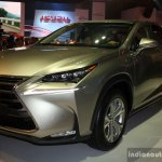 Lexus NX 300h front three quarter at the CAMPI 2014