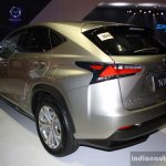 Lexus NX 300h rear left three quarter at the CAMPI 2014