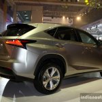 Lexus NX 300h rear three quarter at the CAMPI 2014
