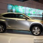 Lexus NX 300h side at the CAMPI 2014