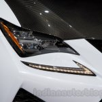 Lexus RC-F Carbon pack headlamp at the 2014 Moscow Motor Show