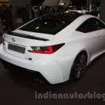 Lexus RC-F Carbon pack rear three quarters right at the 2014 Moscow Motor Show