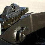Mahindra Gusto review height adjustor at minimum height