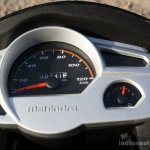 Mahindra Gusto review instrument console