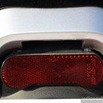 Mahindra Gusto review rear reflector