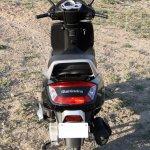 Mahindra Gusto review rear