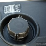 Mahindra Gusto review underseat fuel filler