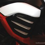 Mahindra Mojo air intake at the 2014 Nepal AutoShow