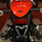 Mahindra Mojo rear at the 2014 Nepal Auto Show