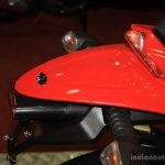Mahindra Mojo taillight at the 2014 Nepal AutoShow