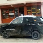 Mahindra S101 spied in Leh side