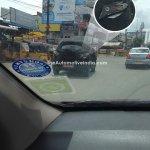 Mahindra S101 taillight spied