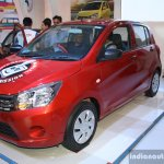 Maruti Celerio front three quarter at the 2014 Nepal Auto Show