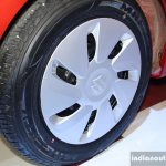 Maruti Celerio wheel at the 2014 Nepal Auto Show