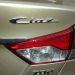 Maruti Ciaz ZDi+ spied taillight