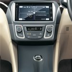 Maruti Ciaz press shots center screen