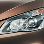 Maruti Ciaz press shots projector headlights