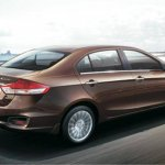Maruti Ciaz press shots rear quarter