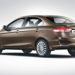 Maruti Ciaz press shots rear quarters