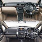 Maruti Ciaz vs Maruti SX4 dashboard