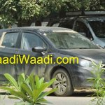 Maruti SX4 S-Cross spied NCR front quarter