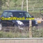 Maruti Swift facelift spied India LED DRL