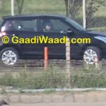 Maruti Swift facelift spied India black side