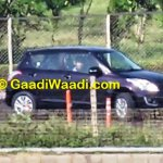 Maruti Swift facelift spied India front quarters