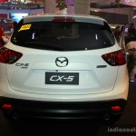 Mazda CX-5 rear at the Philippines International Motor Show 2014