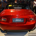 Mazda MX-5 Miata 25th Anniversary Edition rear at the 2014 Philippines International Motor Show