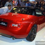 Mazda MX-5 Miata 25th Anniversary Edition rear right three quarter at the 2014 Philippines International Motor Show
