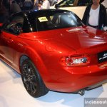 Mazda MX-5 Miata 25th Anniversary Edition rear three quarter at the 2014 Philippines International Motor Show