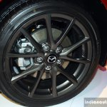 Mazda MX-5 Miata 25th Anniversary Edition wheel at the 2014 Philippines International Motor Show