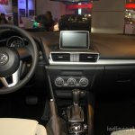 Mazda3 Speed dashboard at the 2014 Philippines International Motor Show