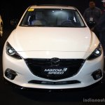 Mazda3 Speed front at the 2014 Philippines International Motor Show