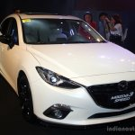 Mazda3 Speed front three quarter at the 2014 Philippines International Motor Show