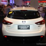 Mazda3 Speed rear at the 2014 Philippines International Motor Show