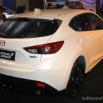 Mazda3 Speed rear three quarter at the 2014 Philippines International Motor Show