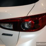 Mazda3 Speed taillight at the 2014 Philippines International Motor Show