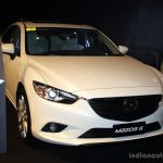 Mazda6 front at the Philippines International Motor Show 2014