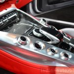 Mercedes AMG GT centre console at the 2014 Paris Motor Show