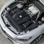 Mercedes AMG GT press image engine bay