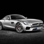 Mercedes AMG GT press image front three quarter right