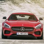 Mercedes AMG GT press image red front