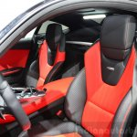 Mercedes AMG GT sports seats at the 2014 Paris Motor Show