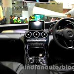 Mercedes C Class dashboard at the Indonesia International Motor Show 2014