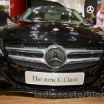 Mercedes C Class front at the Indonesia International Motor Show 2014