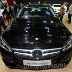 Mercedes C Class front fascia at the Indonesia International Motor Show 2014