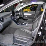 Mercedes C Class front seats at the Indonesia International Motor Show 2014