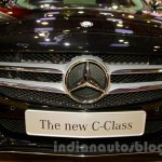 Mercedes C Class grille at the Indonesia International Motor Show 2014